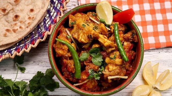Lahori Red Chicken Karahi