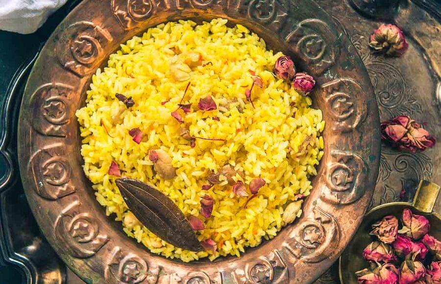 Basanti Pulao Recipe: The New Year Festive